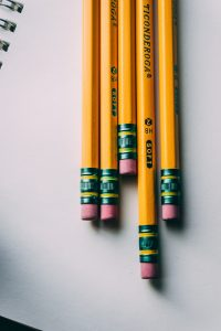 Five Ticonderoga Pencils